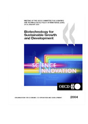 Biotechnology for sustainable Growth and development